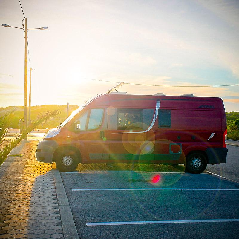 Camper und Van für Reisen mit Hund