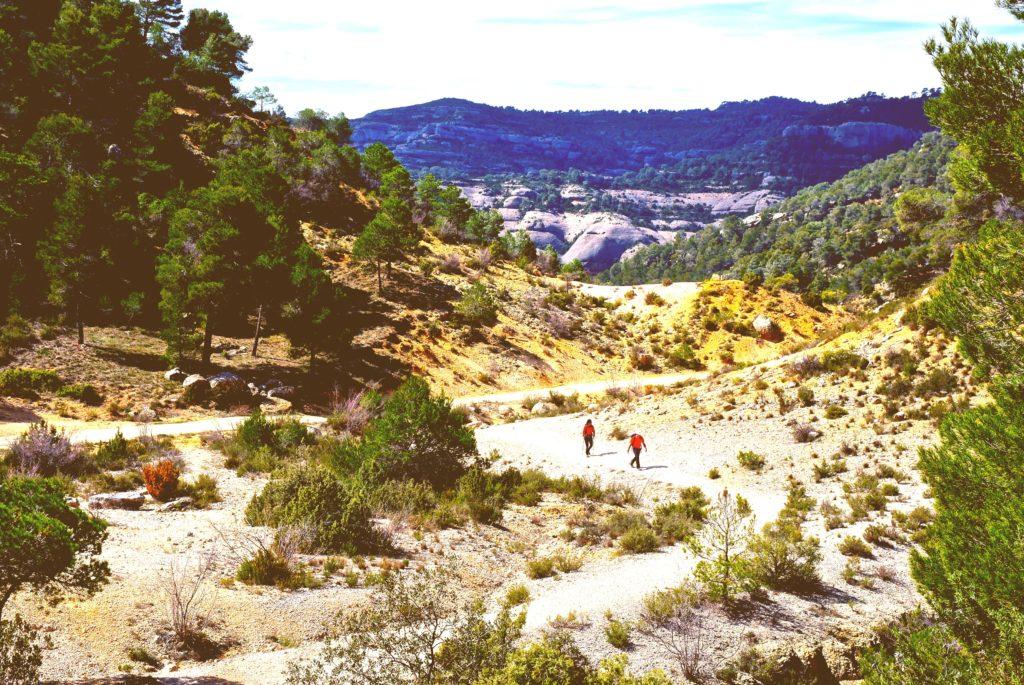 Eingang in die Schlucht von Fraguerau im Naturpark Serra de Montsant