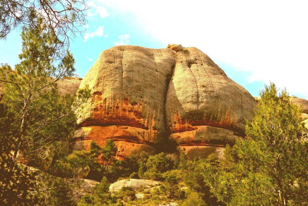 Am Arsch der Welt im Naturpark Serra de Montsant