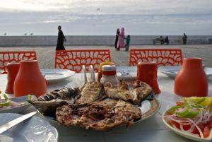 Fischgericht in Essaouira