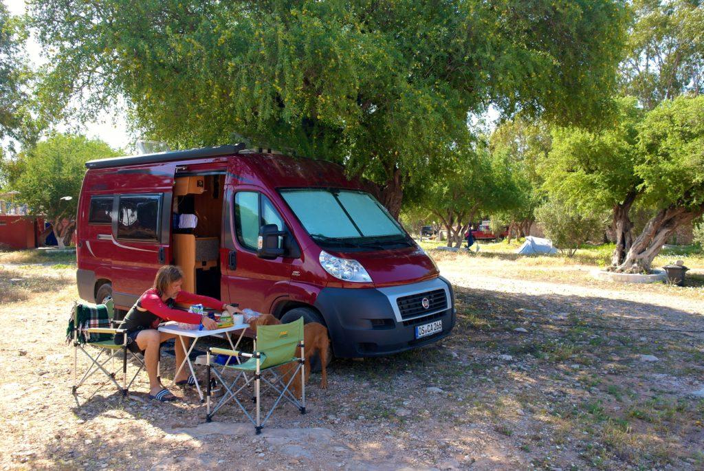 Camping in Marokko mit Hund