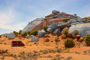 Bunte Felsen von Tafraoute