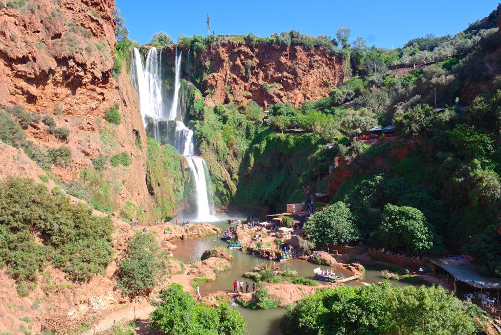 Wasserfälle von Ouzoud