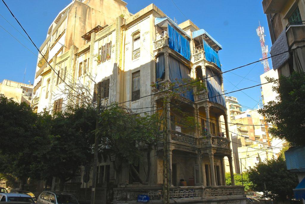alte Villa im Libanon