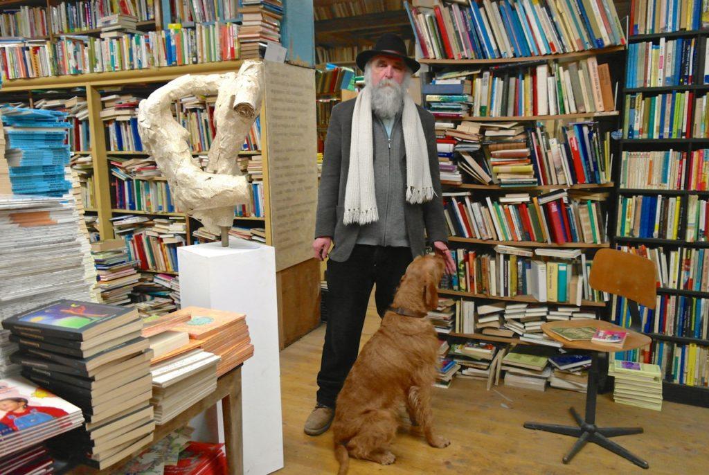Bücherpastor auf der Bücherburg
