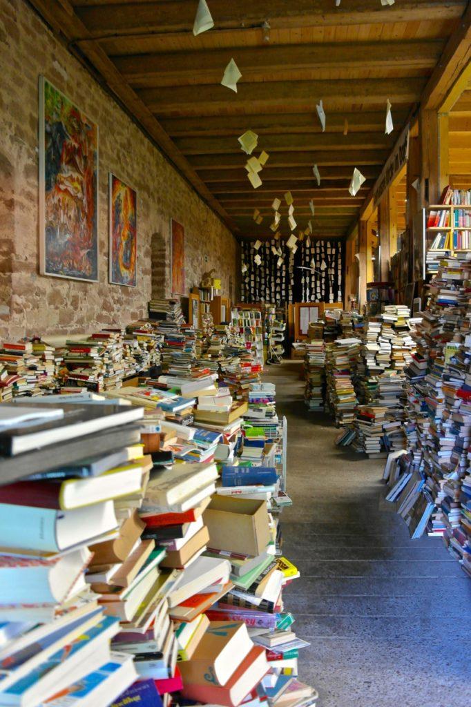 Bücherspeicher auf der Bücherburg Katlenburg