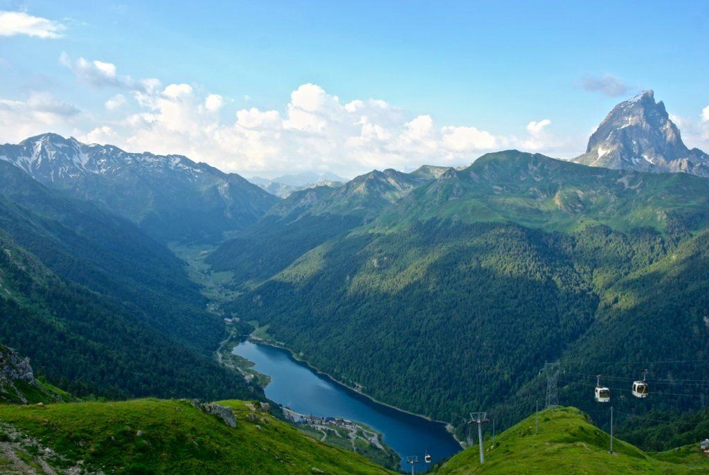 Fabrgèges See in den Pyrenäen
