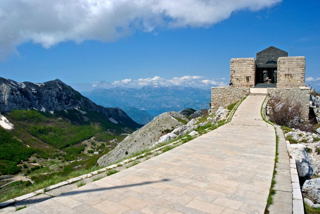 Mausoleum im Lovcen Nationalpark