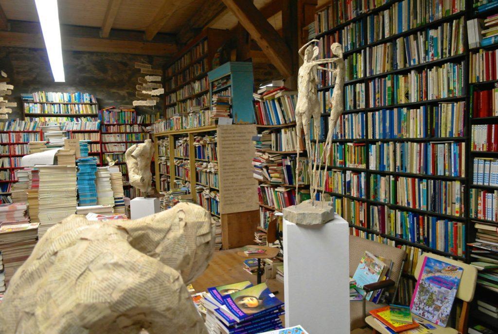 Buchrecycling auf der Bücherburg