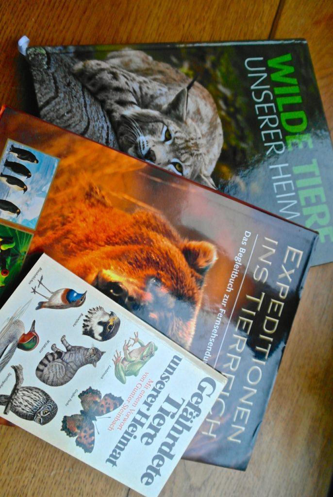 Tierbücher aus dem Fundus der Bücherburg