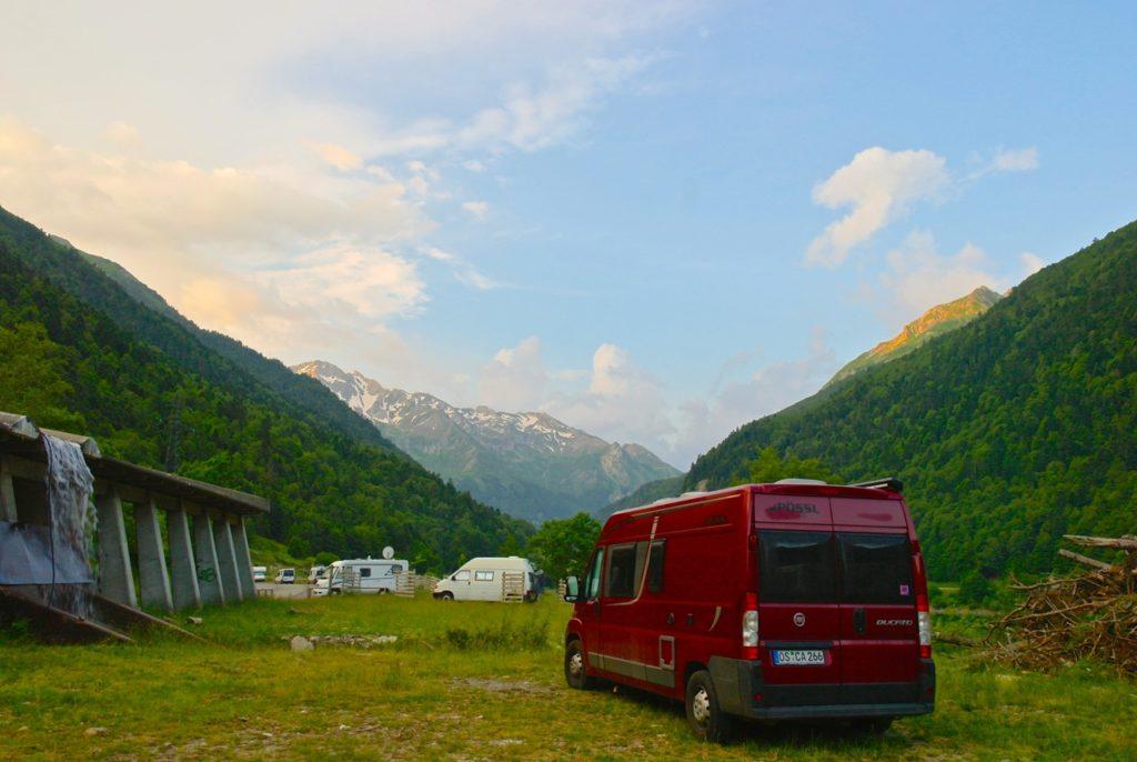 Camping in Artouste