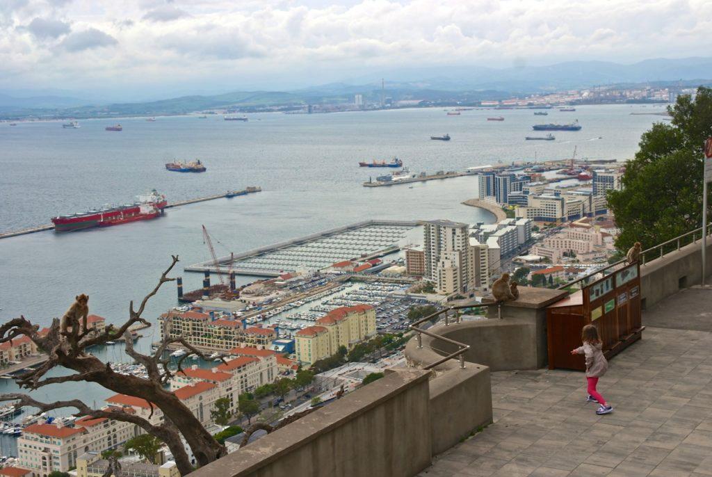 Aussicht Gibraltar