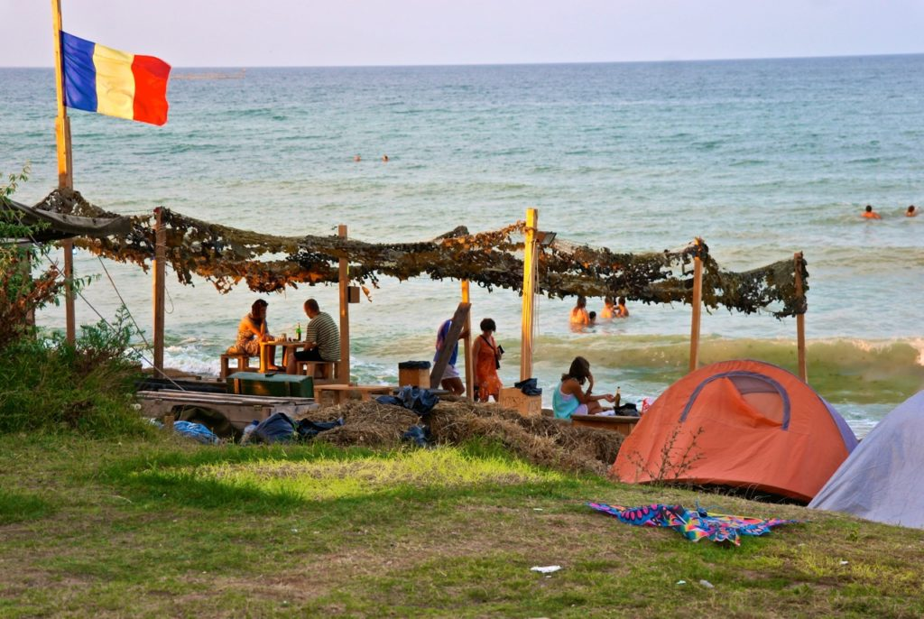 Strand in Vama Veche
