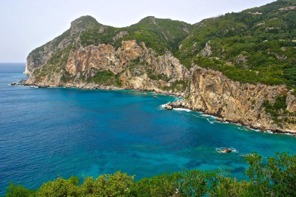 Steilküste Korfu