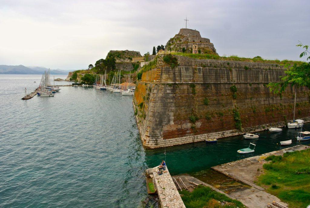 Festung in Kerkyra