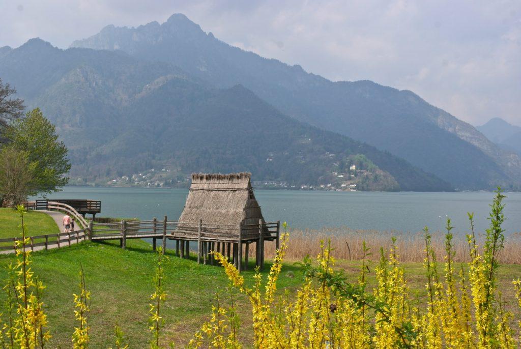 Phalbauten am Lago di Ledro