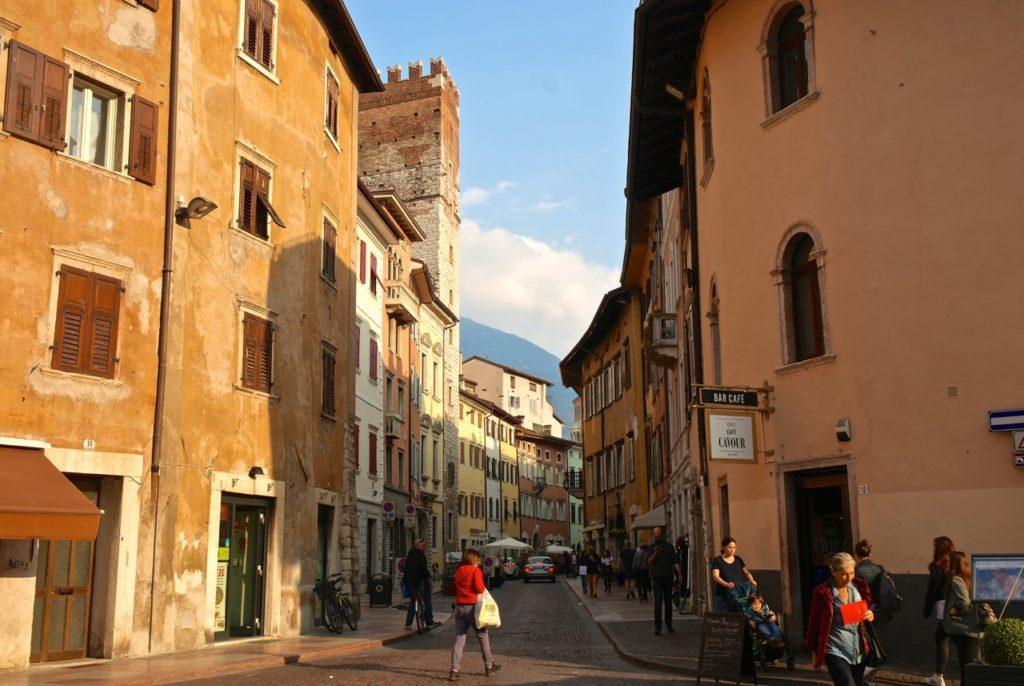 Abendstimmung in Trento