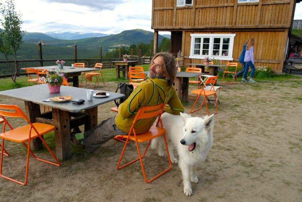 Hofcafé Bauernhof in Norwegen