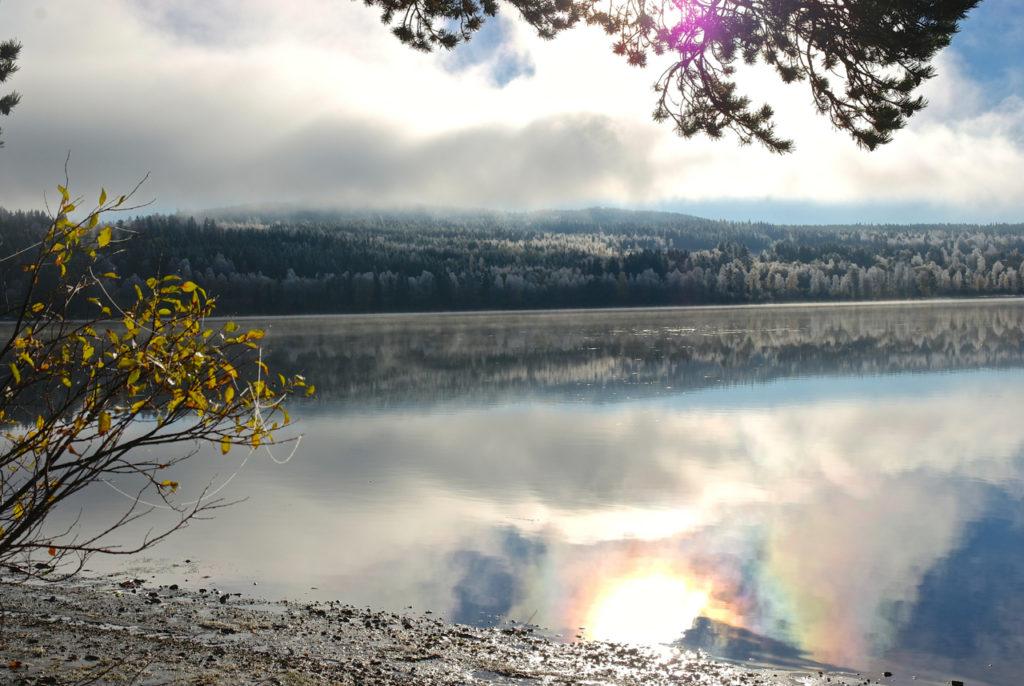 Storsjön-See Winterstimmung