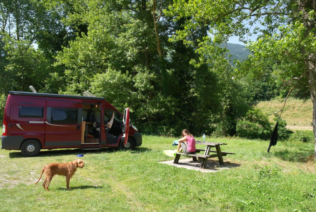 Camping am Ort Laruns