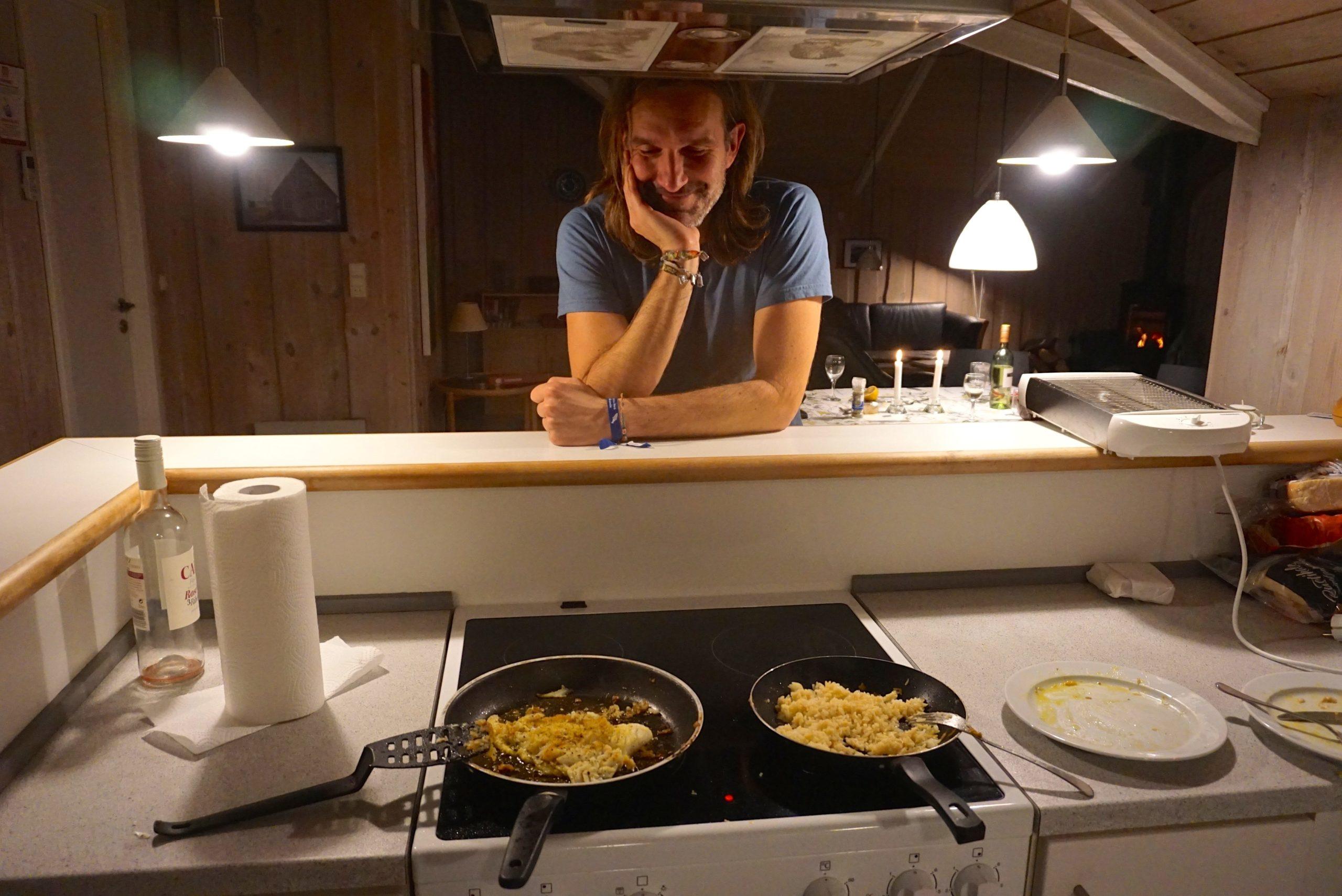 offene Küche im DanWest-Ferienhaus