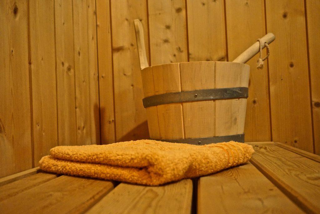 Sauna im dänischen Ferienhaus