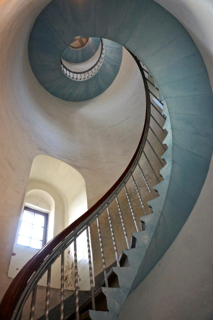 Da steigt man gerne hinauf - Treppe Lyngvig Fyr