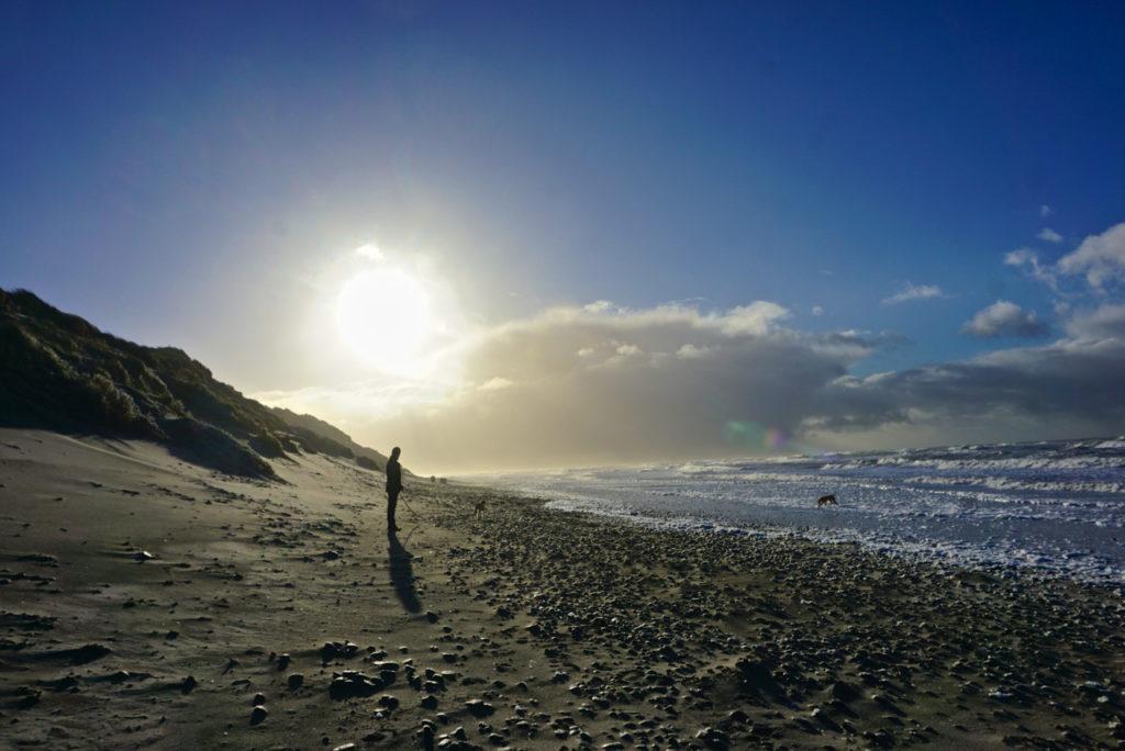 Strand beim Lyngvig Fyr