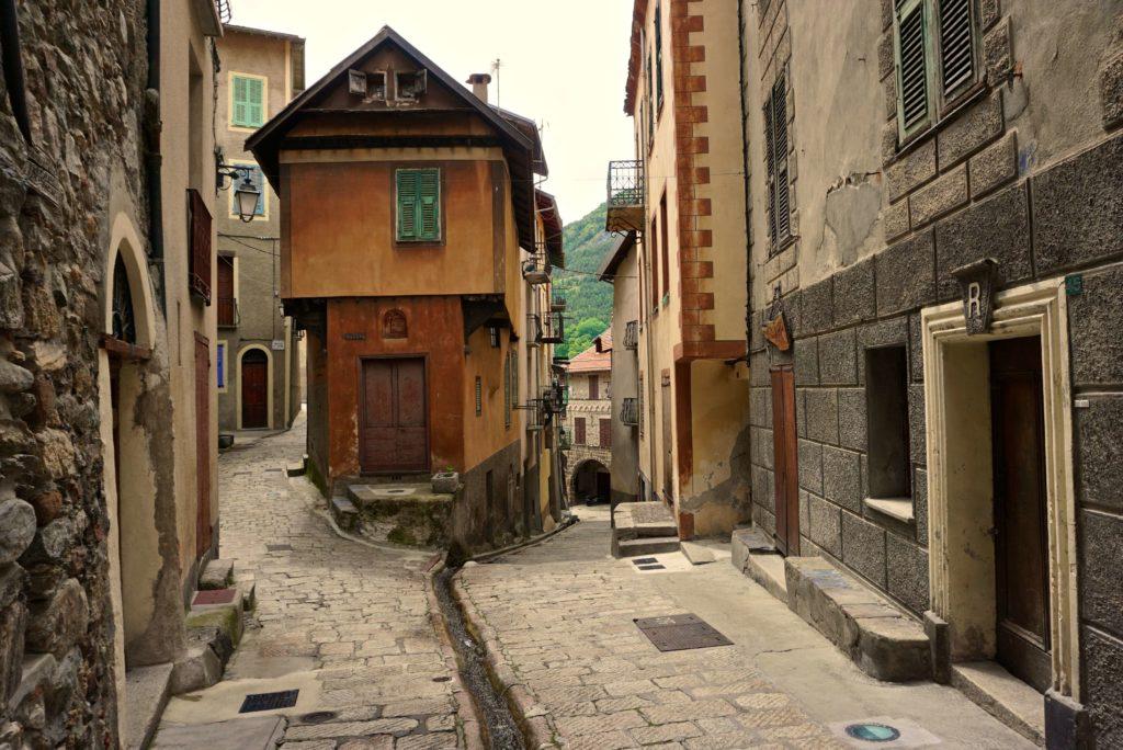 In den Gassen von Saint Martin Vésubie