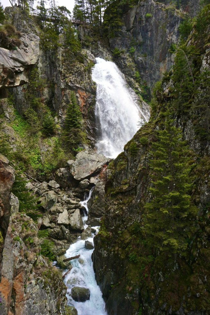 Wasserfall im Nationalpark Mercantour