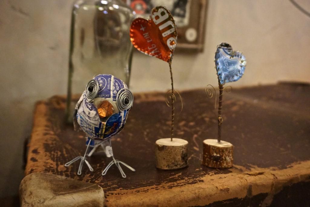 Vogel-Skulptur von Kiki Kalahari