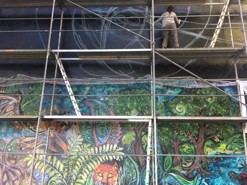 Tierisches Wandbild von Kiki Kalahari