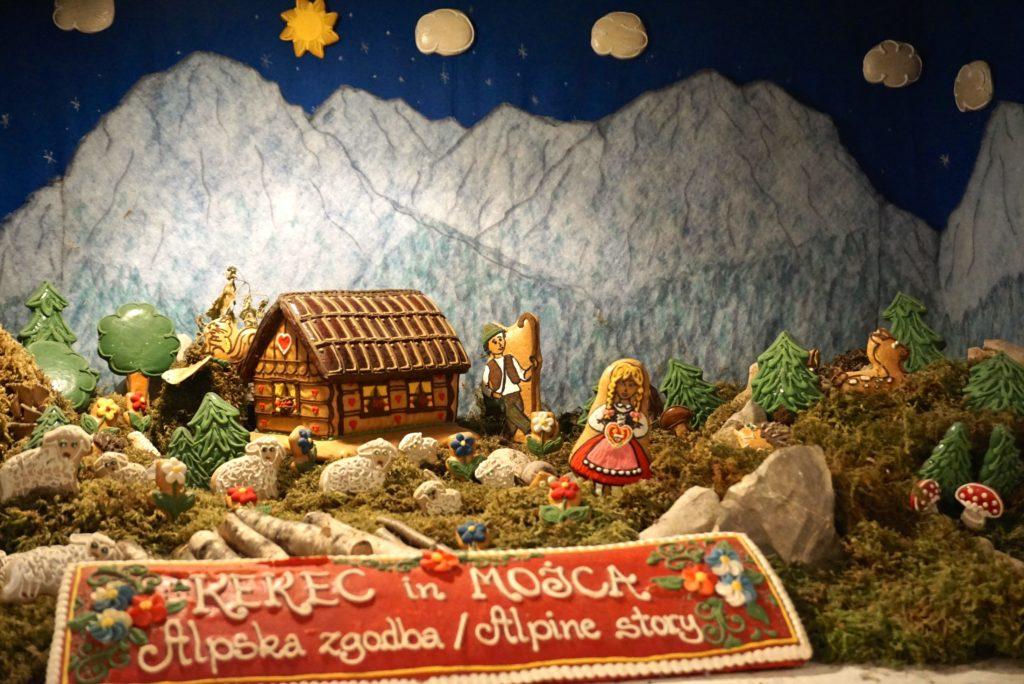 Kunstwerk aus Honigkuchen in Radovljika, tierisch-in-fahrt.de