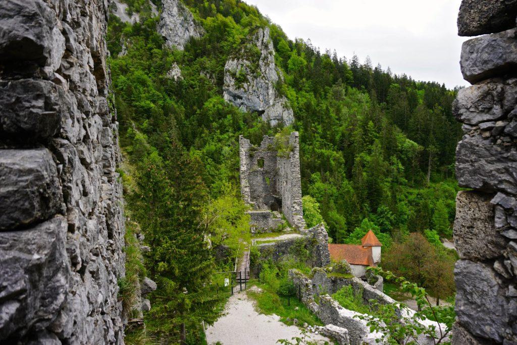 Burgruine Grad Kamen in Begunje, tierisch-in-fahrt.de