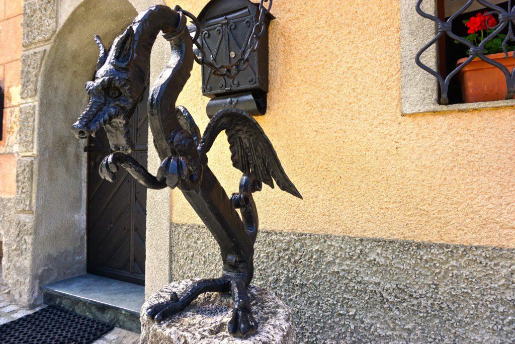 Drachen in Kropa, Slowenien, tierisch-in-fahrt.de