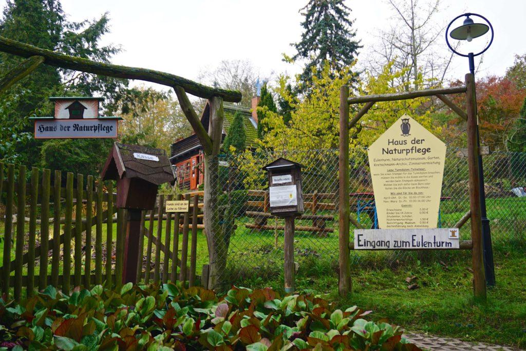 Eingang Haus der Naturpflege, tierisch-in-fahrt.de