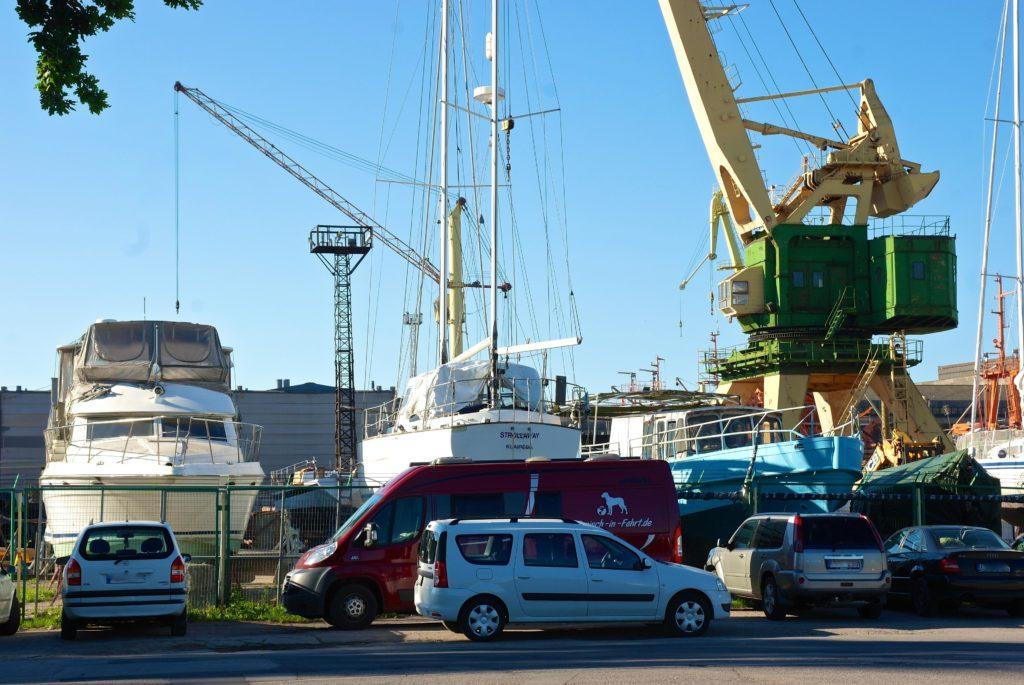 Hafen Klaipeda mit Van_tierisch-in-fahrt.de