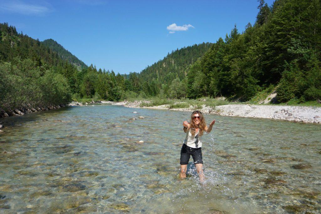 Fluss in den Kalkalpen_tierisch-in-fahrt.de
