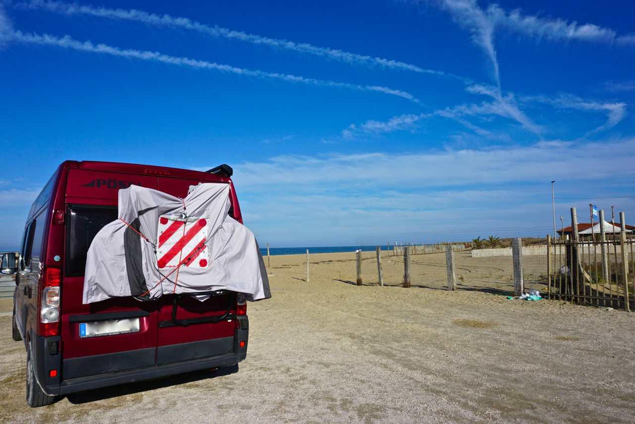 Campen am Strand an Italiens Stiefelsporn_tierisch-in-fahrt.de
