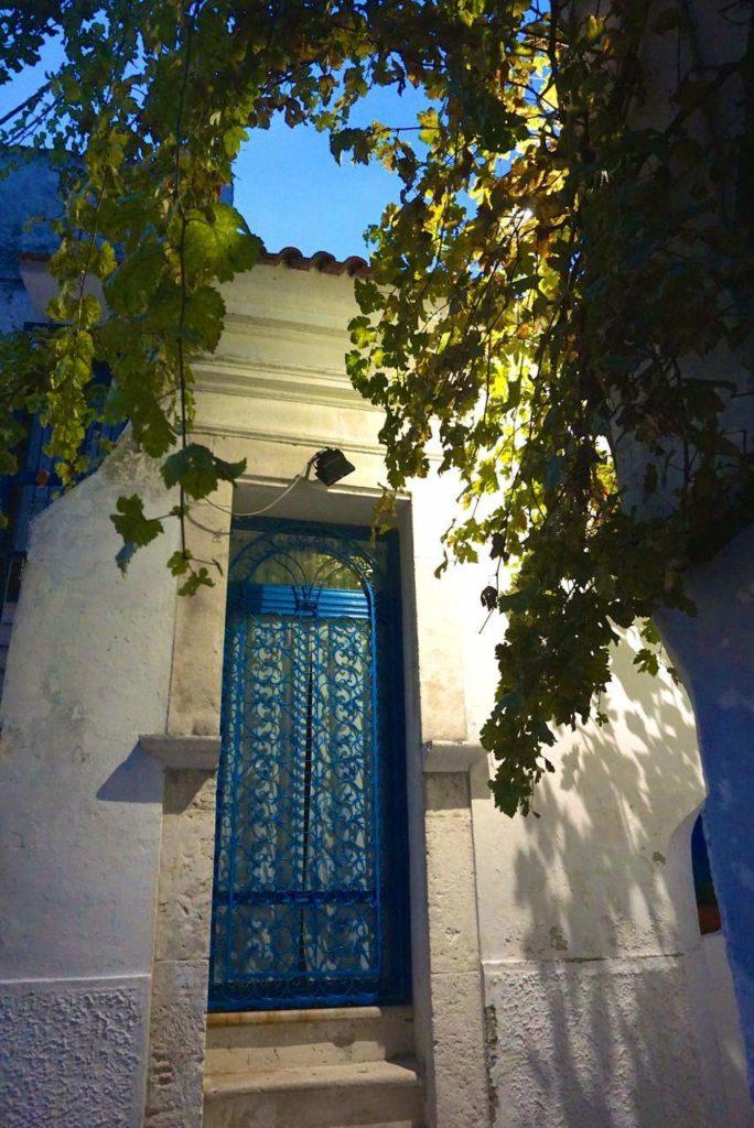 Hauseingang in Peschichi